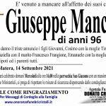 Mancini Giuseppe di anni 96