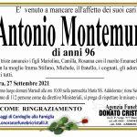 Antonio Montemurro di anni 96