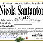 Nicola Santantonio di anni 53