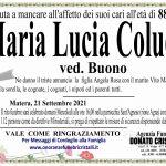 Maria Lucia Colucci ved. Buono    di anni 88